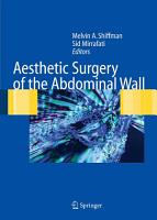 Aesthetic Surgery of the Abdominal Wall PDF