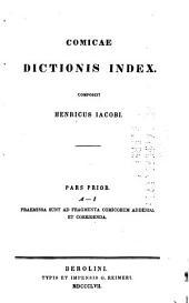 Fragmenta comicorum Graecorum: Τόμος 5,Μέρος 1