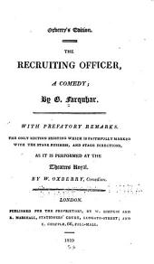 The recruiting officer: a comedy