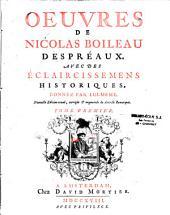 Oeuvres de Nicolas Boileau Despréaux