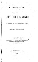 Communion with Holy Intelligence is Food for the Soul PDF