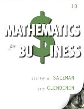 Mathematics for Business: Edition 10