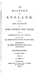 The history of England  from the accession of George iii to 1783 PDF