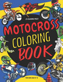 Motocross Coloring Book For Kids