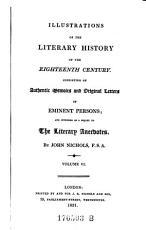 Illustrations Of The Literary History Of The Eighteenth Century PDF