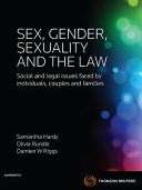 Sex  Gender  Sexuality and the Law PDF