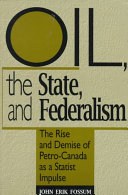 Oil, the State, and Federalism