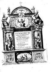 Series et gesta Summorum Pontificum: ex Annal. Caes. Baronii desumpta