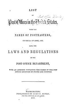 List of the Post offices in the United States PDF