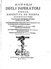 Historia degli imperatori Graeci