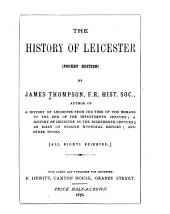 The History of Leicester
