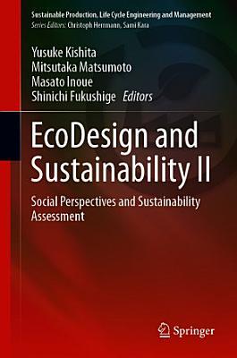 EcoDesign and Sustainability II PDF