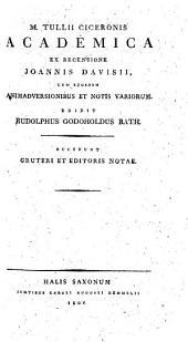 M. Tullii Ciceronis Opera philosophica: Volume 3
