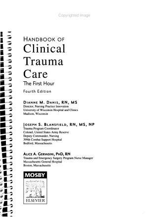 Handbook of Clinical Trauma Care PDF