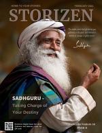 Storizen Magazine February 2021 | Sadhguru