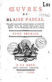 Oeuvres de Blaise Pascal: Volume5