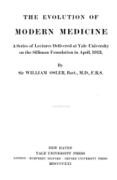 Evolution of Modern Medicine