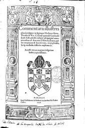 Commentarii illustres planeq[ue] insignes in quinque mosaicos libros