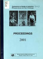 Conference on Gender   Indochina PDF