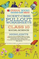 Oswaal NCERT   CBSE Pullout Worksheets Class 10 Social Science  For March 2020 Exam  PDF