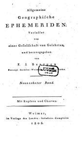 Allgemeine geographische Ephemeriden: Band 19