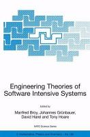 Engineering Theories of Software Intensive Systems PDF