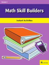 Math Skill Builders: Instant Activities