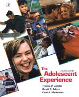 The Adolescent Experience PDF