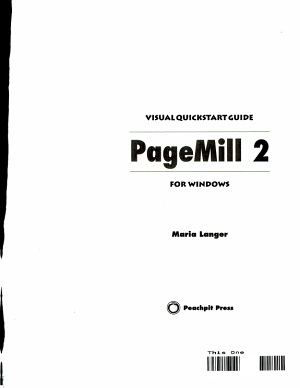 PageMill 2 for Windows PDF