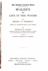 Walden: Or, Life in the Woods