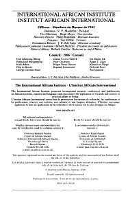 Africa PDF