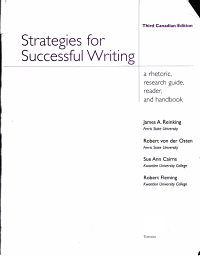 Strategies for Successful Writing   a Rhetoric  Research Guide  Reader  and Handbook PDF