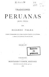 Tradiciones peruanas: (ropa vieja)