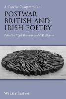 A Concise Companion to Postwar British and Irish Poetry PDF