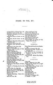 The Monthly Religious Magazine and Theological Review: Volumes 15-16