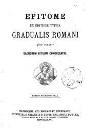 Epitome ex editione typica Gradualis Romani