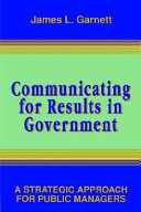 Communicating for Results in Government Book