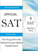 The Most Effective Official SAT Study Guide