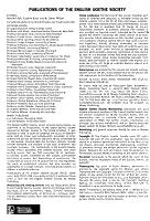 Publications of the English Goethe Society PDF