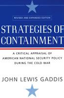 Strategies of Containment PDF