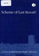 Scheme of Last Resort?