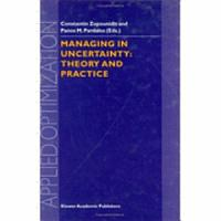 Managing in Uncertainty  Theory and Practice PDF
