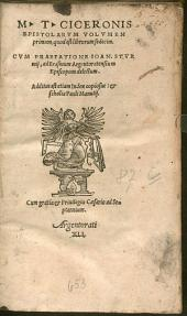 Epistolae: Additus est etiam Index copiosus, & scholia Pauli Manutij. ... quod est librorum sedecim. 1
