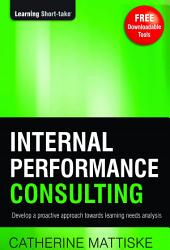 Internal Performance Consulting