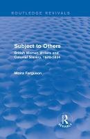 Subject to Others  Routledge Revivals  PDF