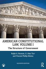 American Constitutional Law, Volume I