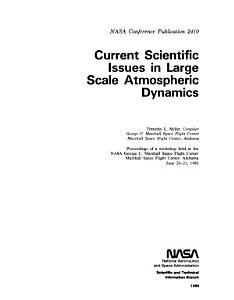 Current Scientific Issues in Large Scale Atmospheric Dynamics PDF