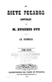 Los siete pecados capitales por M. Eugenio Sue ...