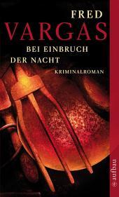 Bei Einbruch der Nacht: Kriminalroman