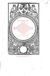 Decem librorum Moralium Aristotelis, tres conversiones